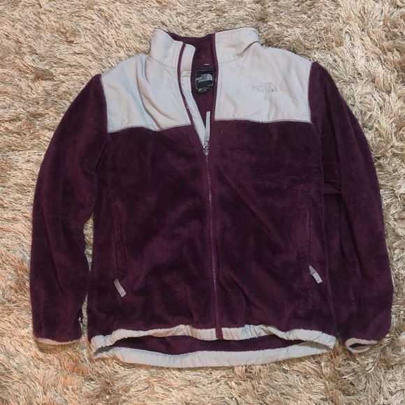a36bb6db8 Purple and gray girls north face jacket